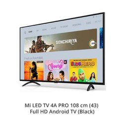 Black Wall Mount Mi LED 4A Pro 108 cm Full HD Android TV