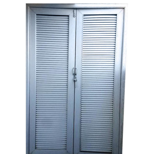 UPVC Louver Door  sc 1 st  IndiaMART & Upvc Louver Door at Rs 280 /square feet | Louvered Doors | ID ...