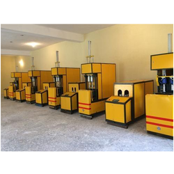 Semi Automatic Pet Blow Molding Machine