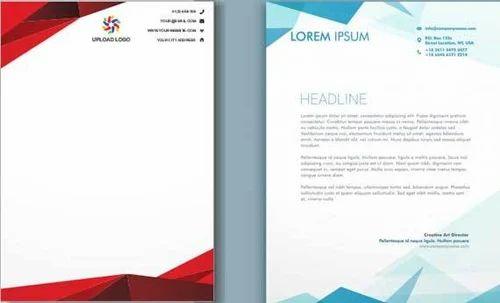 letter head printing letterhead printing service amit computer