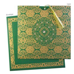 Paper Muslim Wedding Card