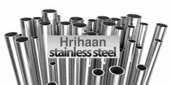 304 Stainless Steel Pipes - Rounded
