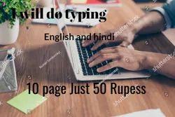 Every Types Every Time Typing English And Hindi, Jhalamand Jodhpur, Business to Business