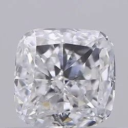 Cushion cut 0.55ct Lab Grown Diamond CVD E VS1 IGI Certified Stone