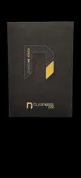 Soft Bound Paper Neeraj Business Pad A/4 100 Page (Set Of 6) Black, Size: 29.3 X 20.4 Cm