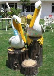 Fiber Pelican For Park