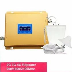 Mobile Signal Booster Triband 2g 3g 4g Yellow