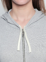 Ladies Cotton Hooded T-Shirt