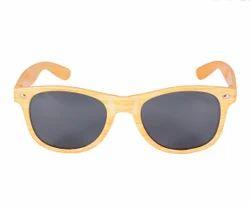 Artificial Wood Wayfarer Bamboo Sunglasses