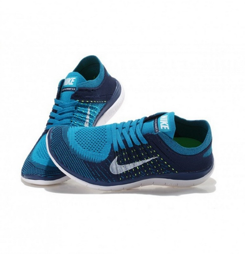 Nike Free Flyknit 4.0 light Blue Shoes