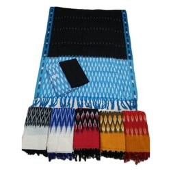 Pochampally Ikat Cotton Designer Dress Material