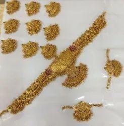 Copper Full Bridal Jewellery