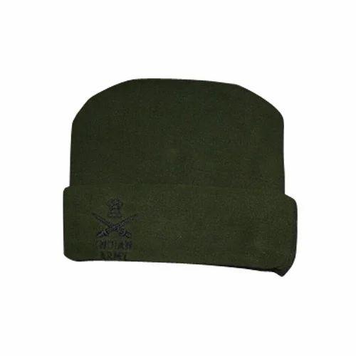 e4d89df4130f4 Male Woolen Army Cap