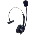 Black Aria 11n Monaural Headset
