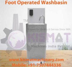 Foot Operated Washbasin / Sink