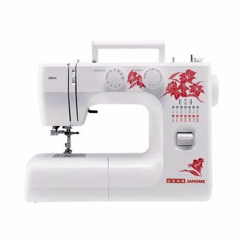 Usha Janome Allure Deluxe Automatic Zigzag Sewing Machine At Rs 12490 Piece Usha Janome Allure Sewing Machine Usha Janome Dream Stitch Sewing Machine Usha Janome Wonder Stitch Sewing Machine Usha Janome Fully