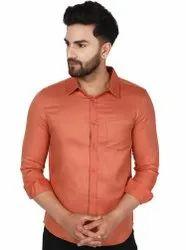 SKAVIJ Men's Dress Casual Slim Fit Long Sleeve Men Cotton Shirt