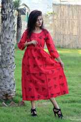 Long Plated Kurti