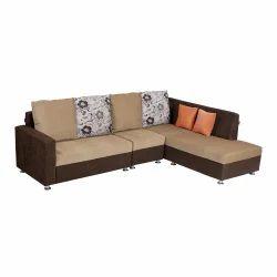 Fabric Nano Corner Sofa Set