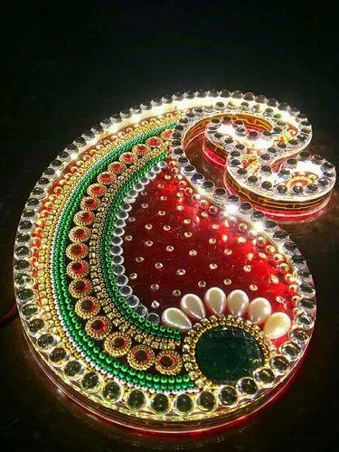 Led Light Rangoli Plastic Battery Operated Diwali At Rs