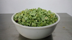 Freeze dried Green Bean