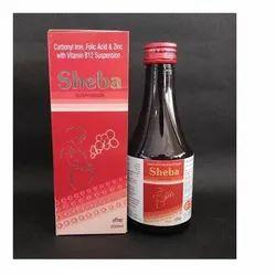 Carbonyl Iron Folic Acid Suspension