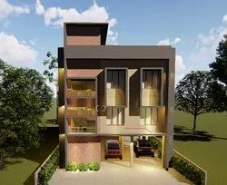 Residential Projects Concrete Frame Structures Building Contractors, in Kerala
