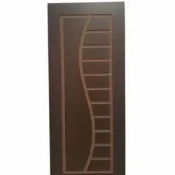 Brown WPC Door