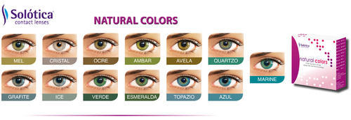 Solotica Natural Colors Contact Lens At Rs 5500 Pair Colored