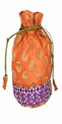 Stonework Brocade Potli Bags