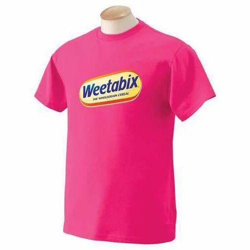 ec0692d8024 Pink Base Corporate Logo T-Shirt