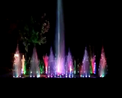 Garden Musical Fountain