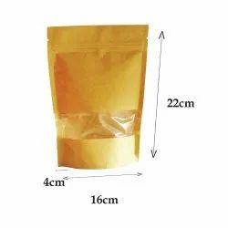 papertrail Kraft Paper Pouch -large