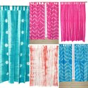 Shibori Tie-Dye Curtains