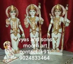 Marble ram darbar for home