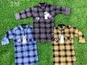 Cotton Checks Kids Shirts, Packaging Type: Roll