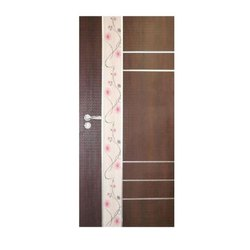 Wood Hinged Wooden Safety Door, For Home, Office etc