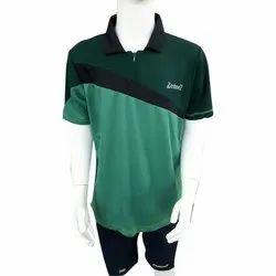 Green Zesteez Boys Half Sleeve Casual T Shirt, Size: M