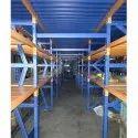 Blue Ms Industrial Storage Racks, Capacity :100-500 Kg