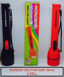 White LED Dolphin Torch