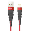 Portronics Konnect 5i POR-861 USB Cable - 3.9 Feet (1.2 Meters) (Red)