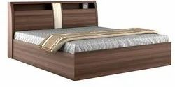 Wooden Storage Double Bed