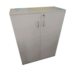 Hinged White PLPB Storage Cabinet