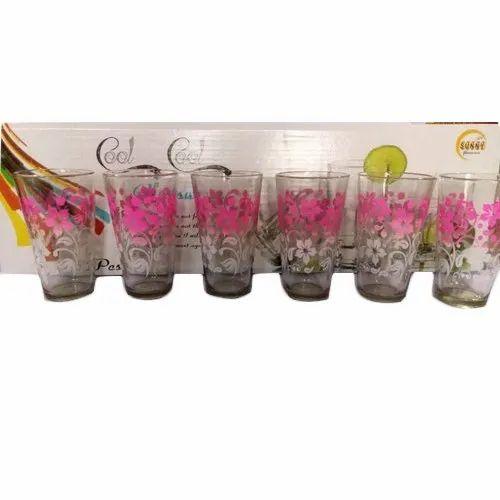 Sunny Printed Glass Set