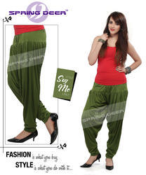 Bottle Green Patiala Pant