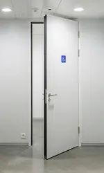 Powder Coated Security Steel Door, Single, Thickness: 18 Mm