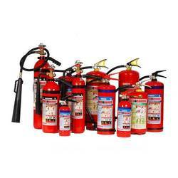 Red A B C Dry Powder Type Fire Extinguisher, 4Kg