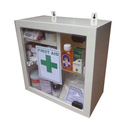 Metallic First Aid Box
