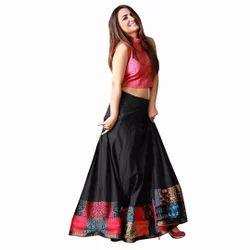 Silk Printed Fancy Lehenga Choli