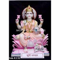 Maa Laxmi Makrana Marble Statue